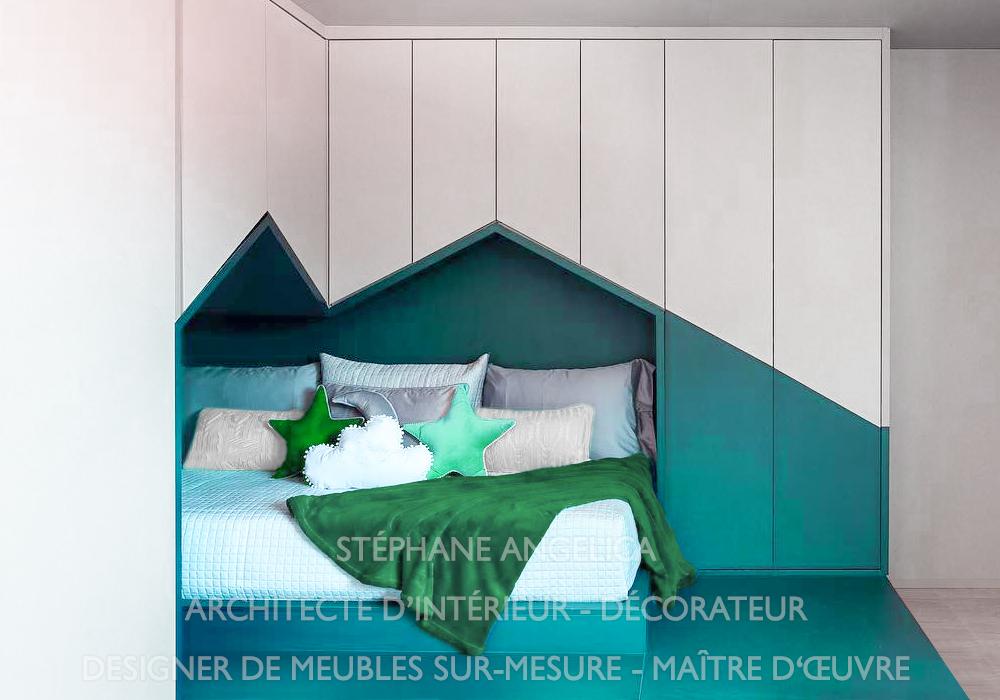 Architecte D Interieur Meuble Rangement Sur Mesure Paris
